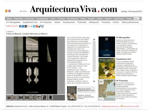 www.arquitecturaviva.com (11/06/2013)