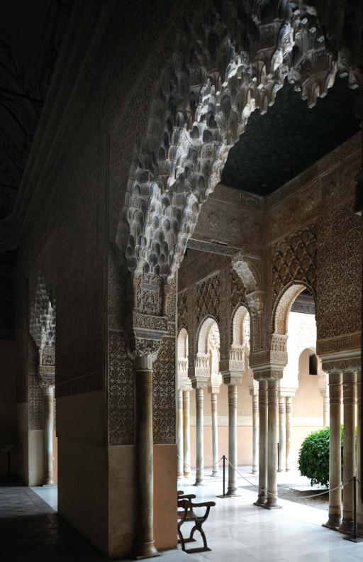 Patio de los Leones. La Alhambra