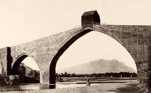 CHARLES CLIFFORD, 1858 (?). Puente del Diablo. Cataluña: Martorell