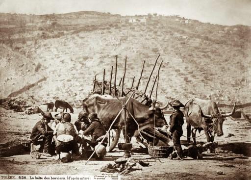 JEAN LAURENT, 1874-92. El descaso de los pastores [La halte des bouviers (d'apres nature)]. Castilla la Nueva: Toledo