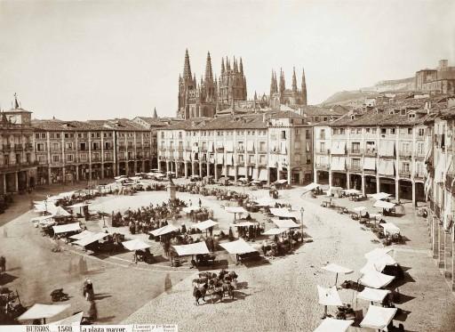 JEAN LAURENT, 1874-92. La plaza Mayor. Castilla la Vieja: Burgos