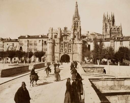 LEVY, ca. 1888. Arco de Santa María. Castilla la Vieja: Burgos