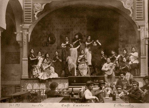 EMILIO BEAUCHY, ca. 1880. Café Cantante. España: Sevilla