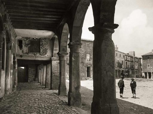 KURT HIELSCHER, 1914-19. Plaza Mayor. Castilla la Vieja: Medinaceli – Soria
