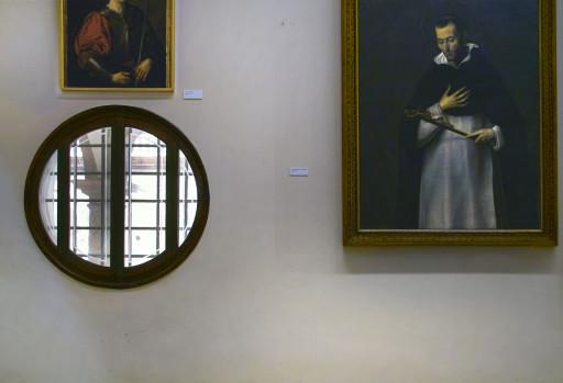 Colegio del Patriarca. El claustro desde el actual museo