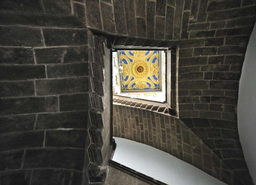 Colegio del Patriarca. Escalera principal